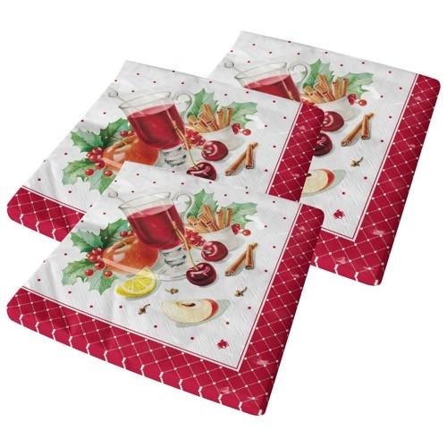 Servietten (Weihnachten) 3x20 Stück