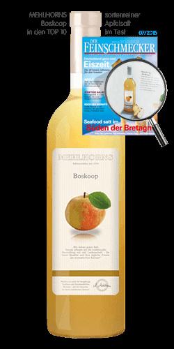 sortenreiner Apfelsaft - Boskoop