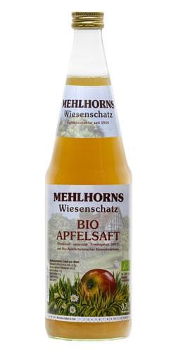 Bio Apfelsaft, naturtrüb