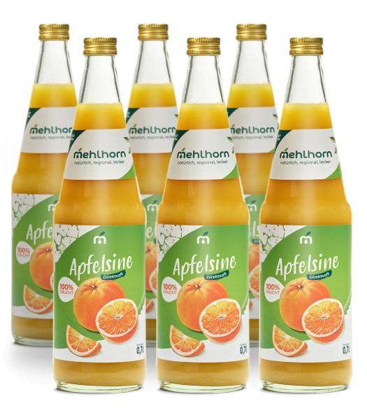Apfelsinensaft Sechser