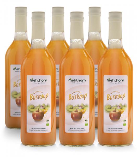 Bio- Apfelsaft, Boskoop Sechser