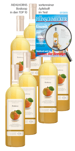 sortenreiner Apfelsaft - Boskoop Sechser