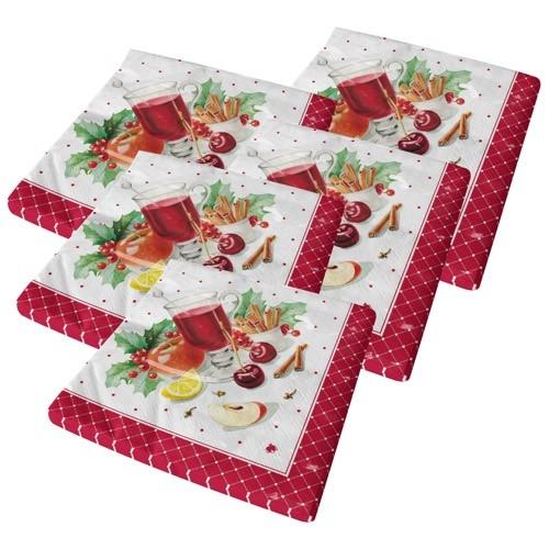 Servietten (Weihnachten) 5x20 Stück